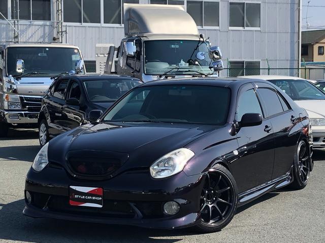トヨタ VR25 純正エアロ クロススピード18インチ CST車高調
