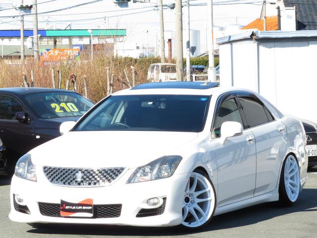 トヨタ 3.5アスリートGパッケージ サンルーフ 黒革パワーシート