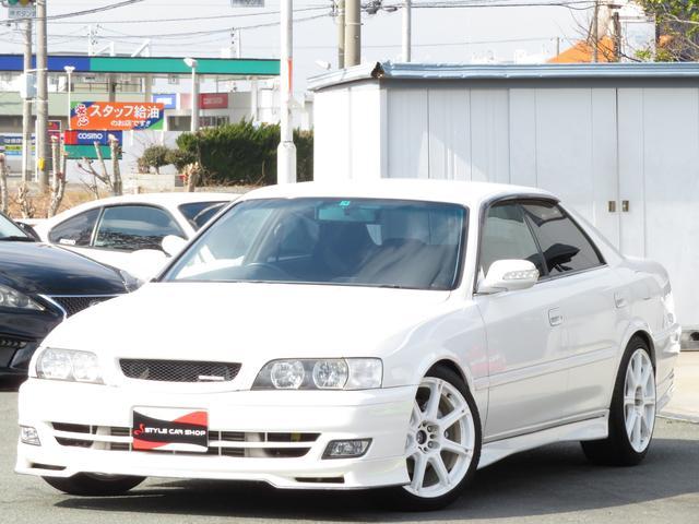 トヨタ ツアラーV 純正エアロ ワーク18インチ HIDヘッドライト