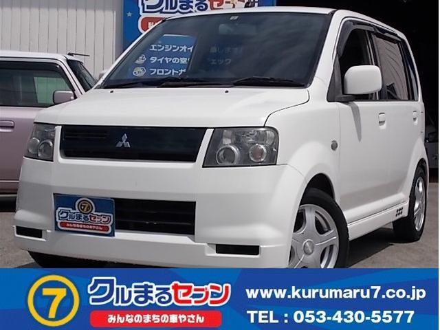 三菱 eKスポーツ R Tベルト交換済 ターボ 電格ミラー ABS CD HID