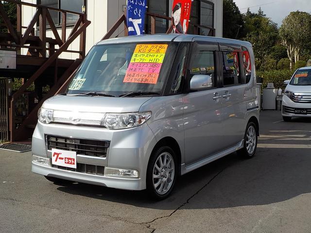「ダイハツ」「タント」「コンパクトカー」「静岡県」の中古車