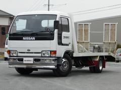 アトラストラック積載車 リモコン付ウインチ メッキバンパー ハイルーフ