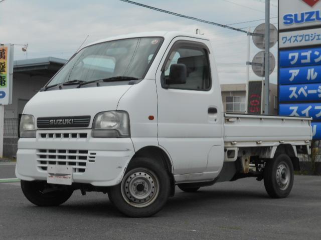 スズキ KUスペシャル 4WD パワステ エアコン 5速マニュアル