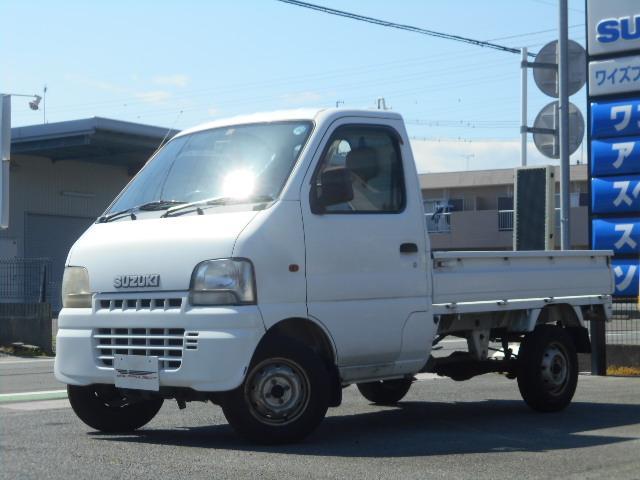 スズキ KUスペシャル エアコン パワステ 5速マニュアル車