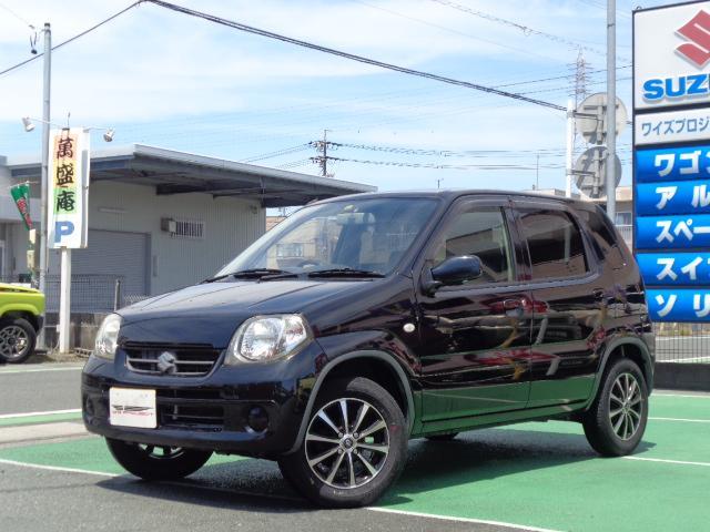 スズキ Kei A 4速オートマ 社外アルミ 交換不要タイミングチェーン 車検整備付 自社保証1年 記録簿有
