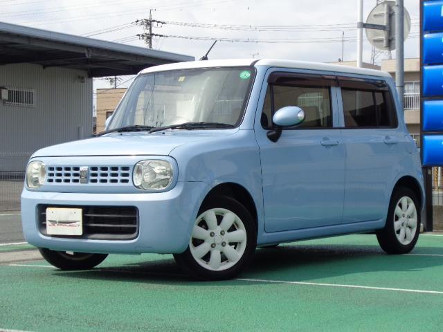 スズキ X ユーザー様買取車 プッシュスタート スマートキー Tチェーン インパネCVT ツートンカラー