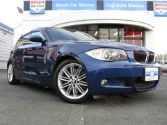 BMW130i 純正HDDナビ 革シート サンルーフ ETC