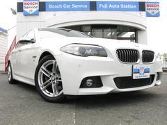 BMW528i Mスポーツ 左ハンドル サンルーフ 液晶メーター