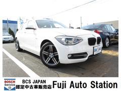 BMW116i スポーツ 動画有 ワンオーナー 純正ナビ・ETC