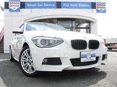 BMW116i Mスポーツ 動画有 純正ナビ 社外ETC