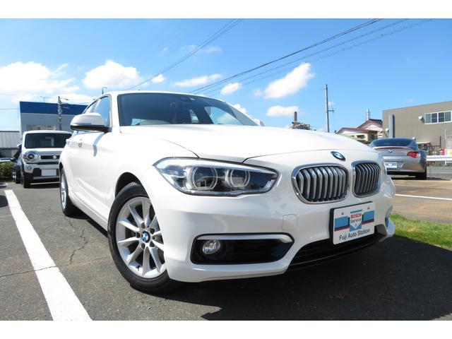 BMW 1シリーズ 118i スタイル 純正ナビ 純正ETC ワンオーナー バックカメラ リアセンサー クルーズコントロール 追突軽減システム 車線逸脱警告 Bluetooth接続 CD・DVD再生 キーレス オートライト