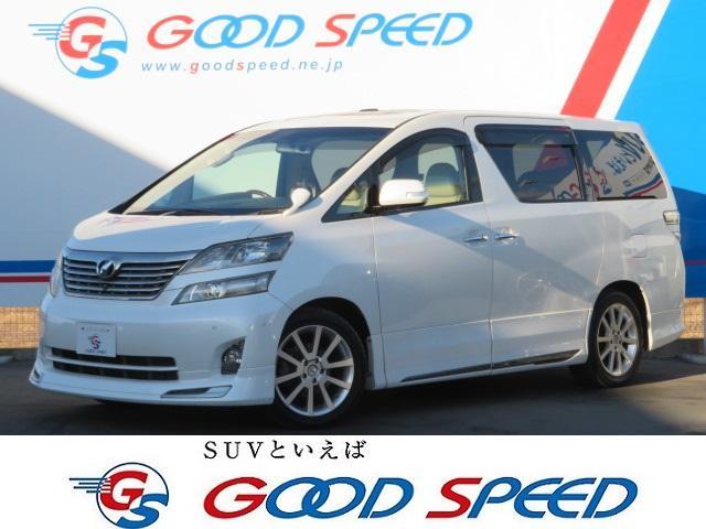 トヨタ 3.5V Lエディション メーカーツイン サンルーフ 本革