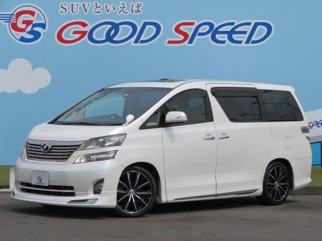 トヨタ 3.5V Lエディション ナビ カメラ 本革 SR 両側PS