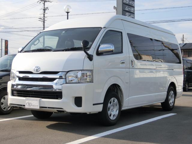 トヨタ グランドキャビン 4WD ナビ・フリップダウンモニター付