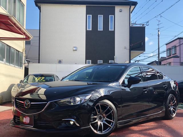 マツダ XD Lパッケージ 車高調新品付き 社外19インチ