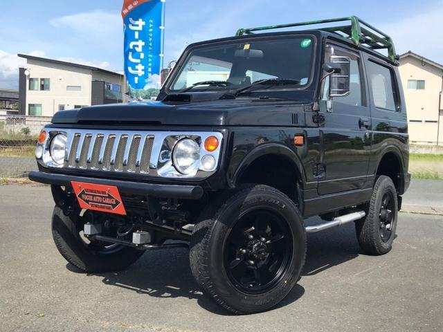 スズキ ジムニー ランドベンチャー 4WD 全塗装 リフトアップ シートカバー