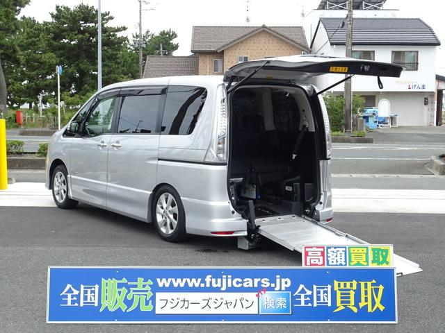 日産 福祉車両スロープ ハイウェイスター Sハイブリ Vセレ 7人