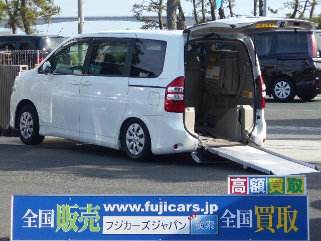 トヨタ リアスローパー 車いす2基 電動ウィンチ 電動固定装置