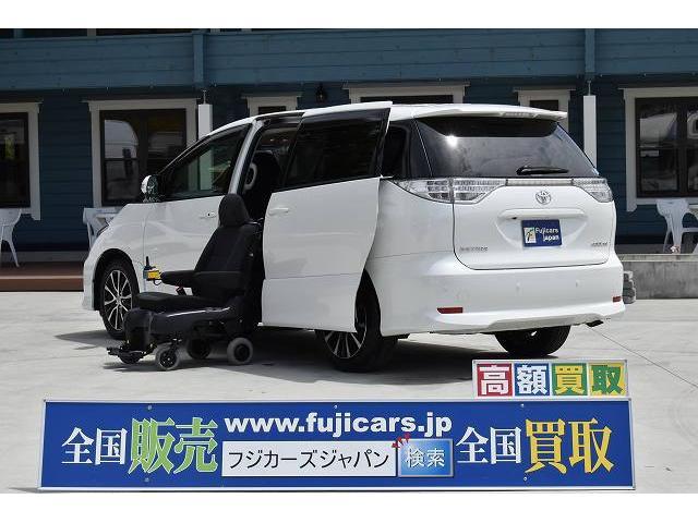 トヨタ アエラス サイドリフトアップ 脱着電動式