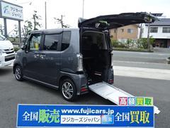 N−BOX+カスタムG スローパー 車いす仕様車 SDナビ バックカメラ ETC