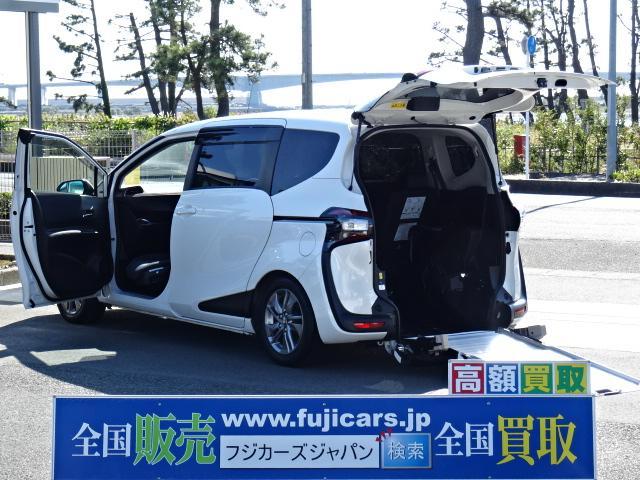 トヨタ G車いす仕様車 スロープ タイプ3 助手席側セカンドシート付