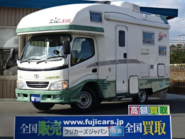 トヨタ バンテック ジル520 ディーゼルターボ4WD FFヒーター
