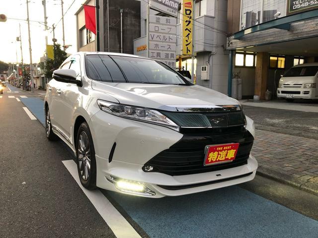 「トヨタ」「ハリアー」「SUV・クロカン」「静岡県」の中古車