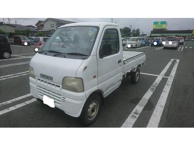 スズキ 軽トラック 白