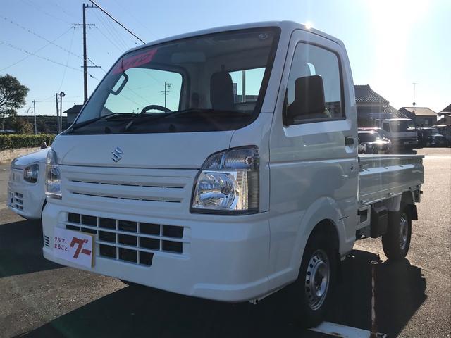 スズキ 4WD AC MT 軽トラック 2名乗り ホワイト
