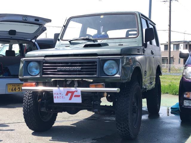 スズキ 4WD MT グリーン