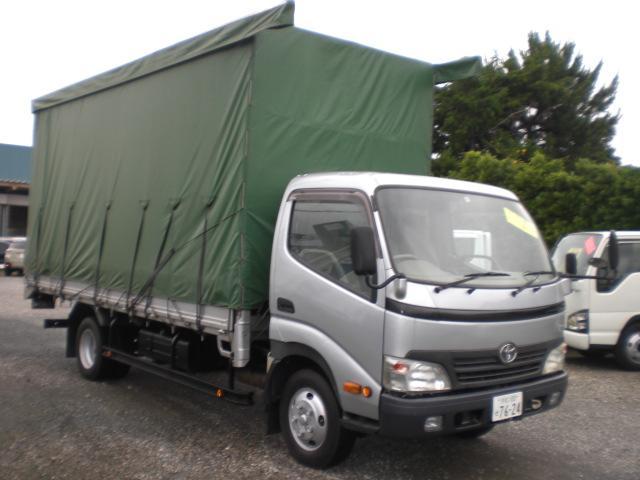 トヨタ 2トンワイド超ロングカーテン車