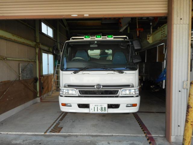 日野 スーパーフロア 茶葉運搬仕様 積載7.2t