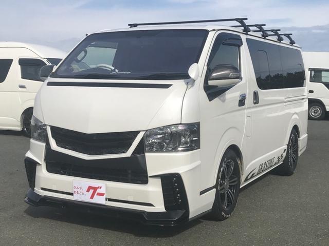 トヨタ ロングスーパーGL ワンオーナー プッシュスタート エアロ