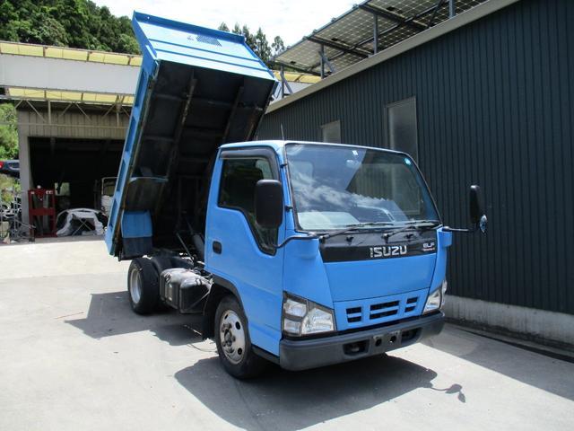 いすゞ 70/ 低床 2t ダンプ  排ガスOK