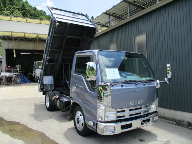 いすゞ 85/ カスタム 低床 2t ダンプ 電格ミラー キーレス
