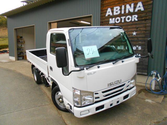 いすゞ エルフトラック  24番 積載2t 総重量5t未満 ETC カーナビ 集中ロック有り 荷台内寸約311X161