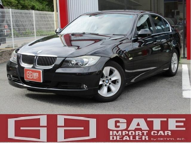 BMW 323i 正規ディーラー車 記録簿 純正ナビ ETC HID キーレス Pスタート Pシート アルミ Wエアバック AAC パワステ MTモード