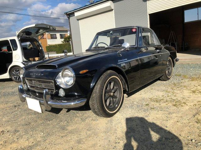 日本その他  フェアレディーSR311 マニュアル5速 レギュラーガソリン車 修復歴無し ブラック 昭和44年
