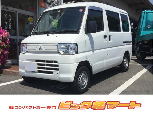 三菱 ミニキャブバン CD 2シータ(メイソウ)ハイR フルフラット 5MT エアコン プライバシーガラス パワステ