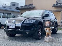 VW トゥアレグV6 レザー フルセグメモリーナビ バックモニター
