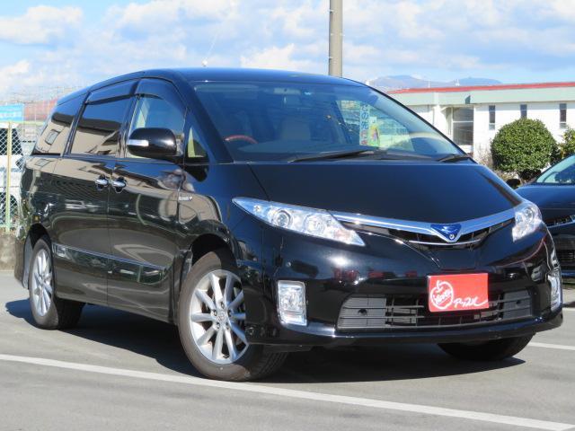 トヨタ G メーカーナビ 本革 プリクラッシュ 両側パワースライド