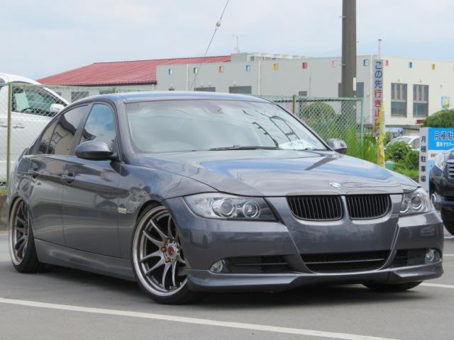 BMW 320i WORK19インチアルミ 車高調