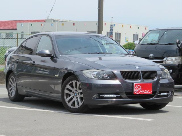 BMW 320i 純正アルミホイール 社外HDDナビ