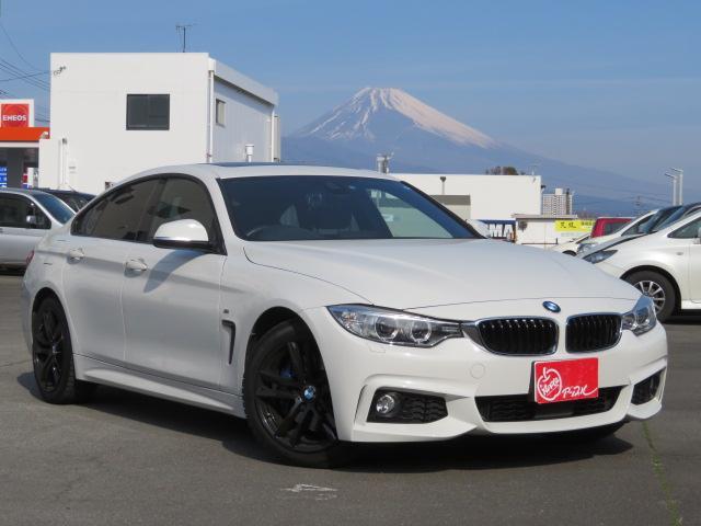 BMW 420iグランクーペ Mスポーツ サンルーフ 純正ナビ
