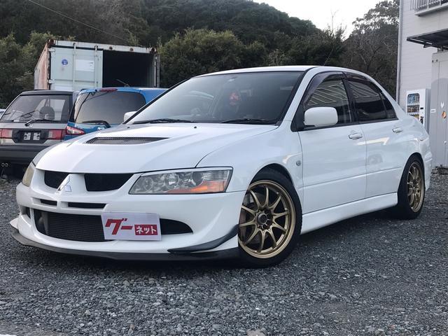 「三菱」「ランサーエボリューション」「セダン」「静岡県」の中古車