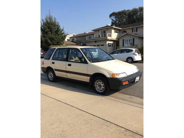 アメリカホンダ ベースグレード Civic wagon シビックワゴン ノーマル車両