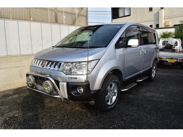 三菱 G-NAVI PACKAGE パワスラ 4WD リアモニター