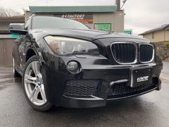 BMW X1sDrive 18i Mスポーツ 社外HDDナビ スマキー