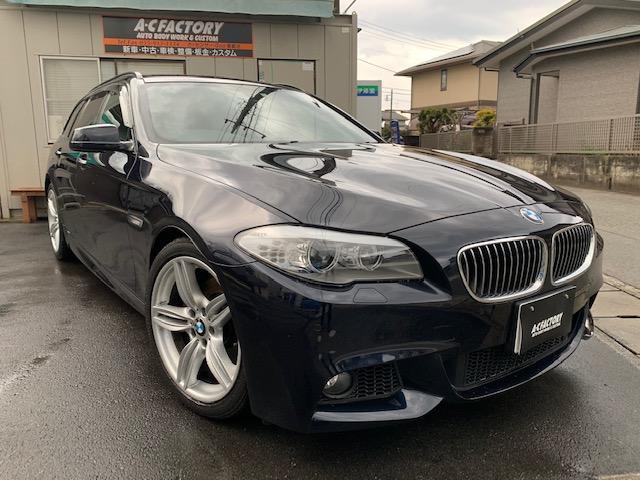 BMW 528iツーリング Mスポーツパッケージ 後席モニター