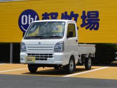 キャリイトラックKC エアコン パワステ 4WD 5MT 届出済未使用車